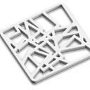 square coaster