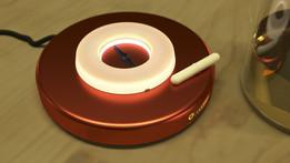 Motorless magnetic stirrer (Lab equipment)