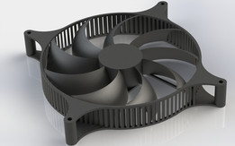 Super Airflow Diagonal Intake PC Fan