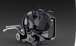 Chopper engine