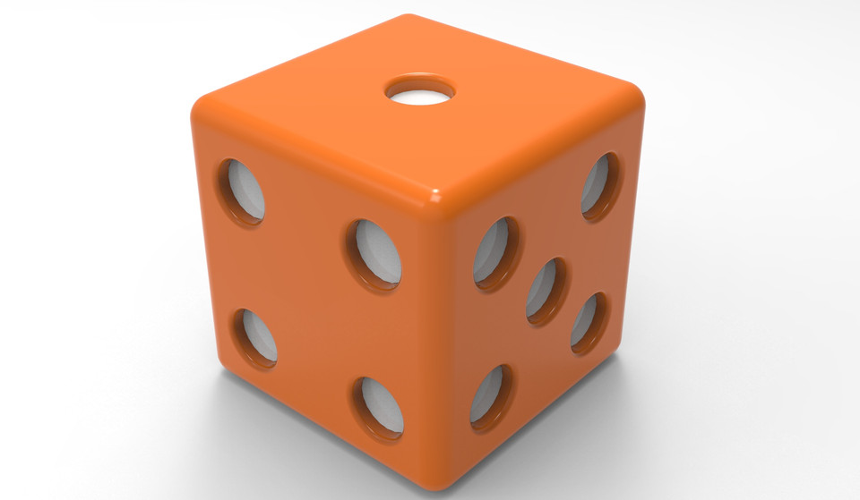 Ludo Dice with Animation | 3D CAD Model Library | GrabCAD