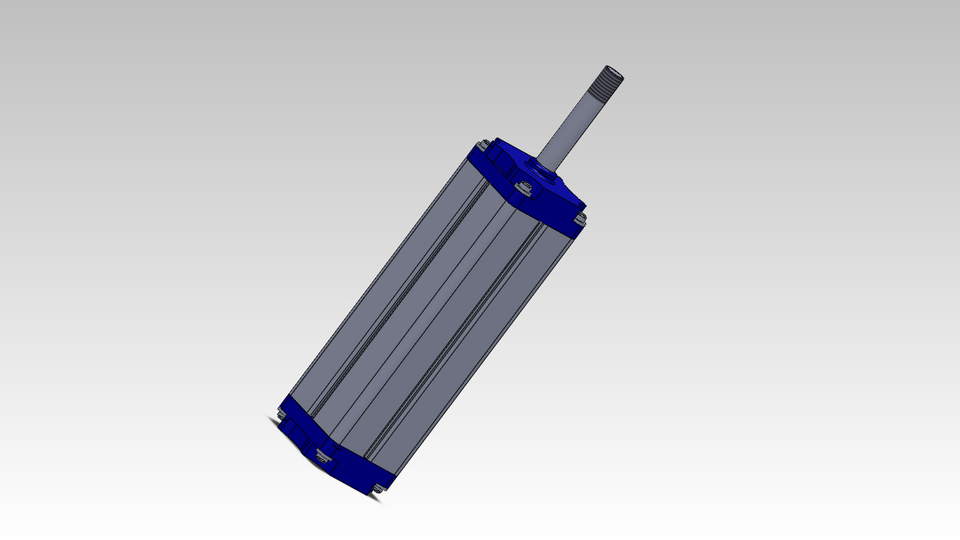verin pneumatique solidworks