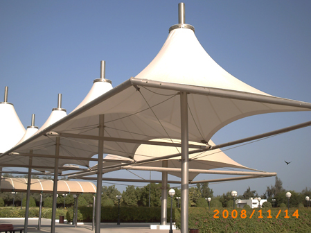 Load in 3D viewer Uploaded by Anonymous & Tensile Structures - Canopies - 3D CAD model - GrabCAD