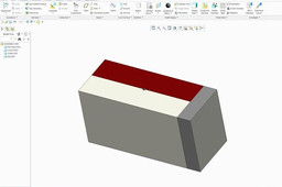 injection molding for file handle