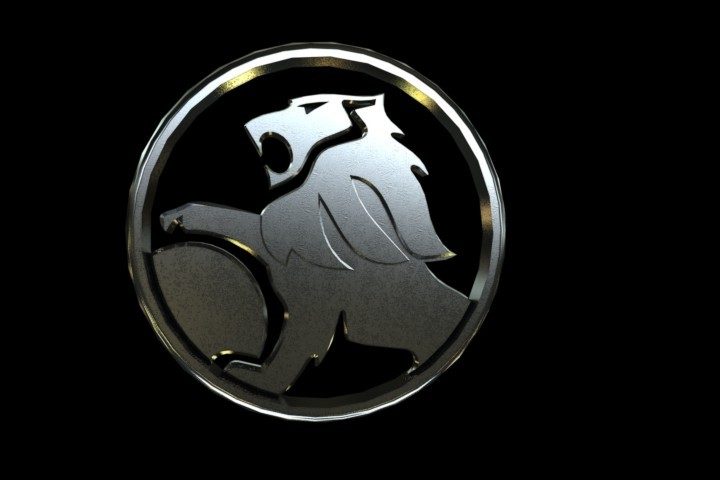 holden emblem solidworksstep iges 3d cad model