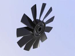120mm EDF fan