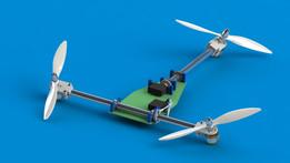 Tricopter-Plane prototype