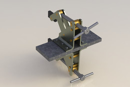 prensa tijera (scissors press)