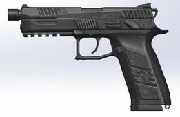 CZ P-09 3D Scan