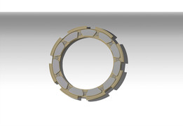 THRUST PAD ASSEMBLY