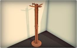 Wooden hanger - 2