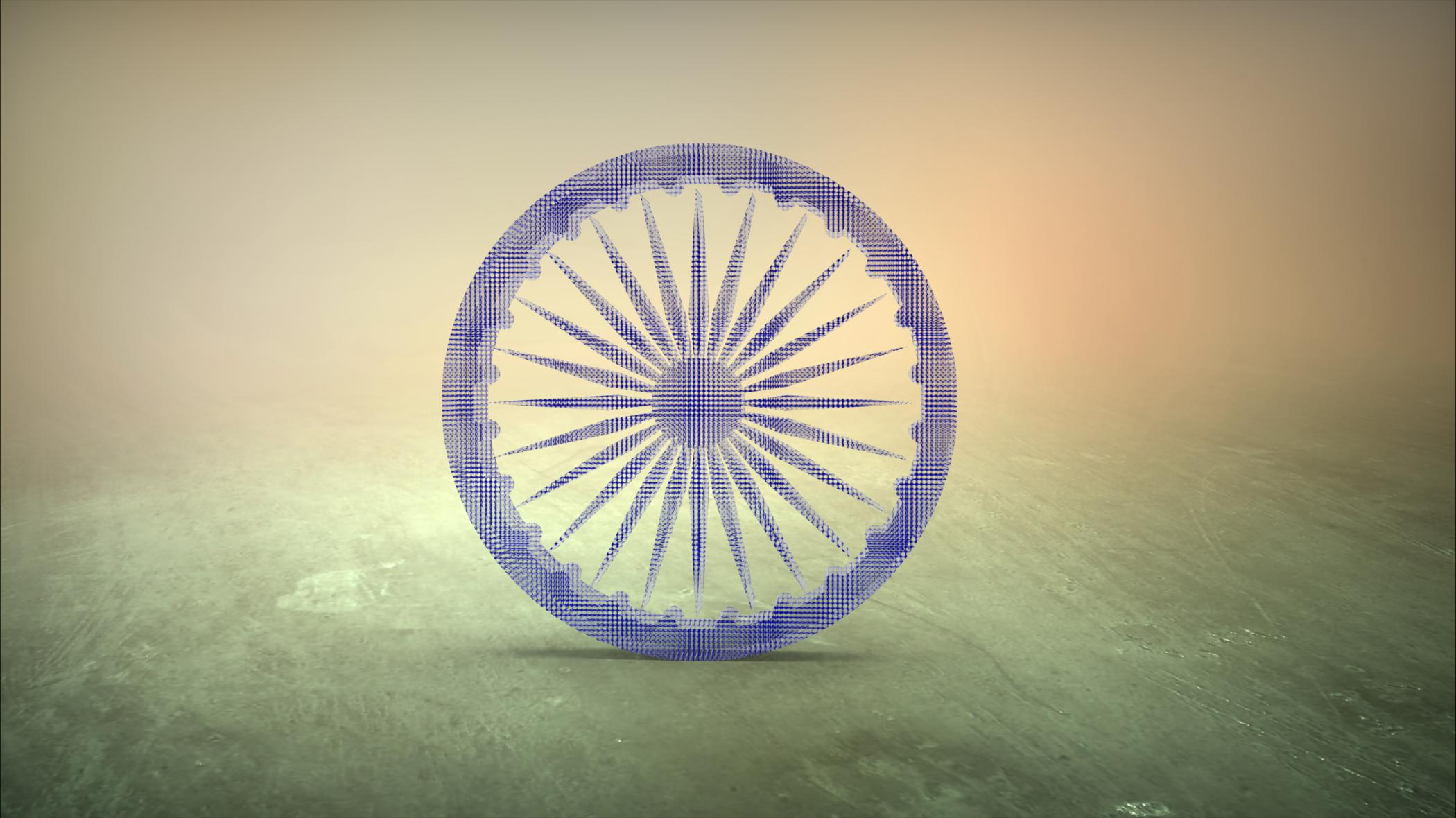 Indian National Flag Chakra Indian National Flag