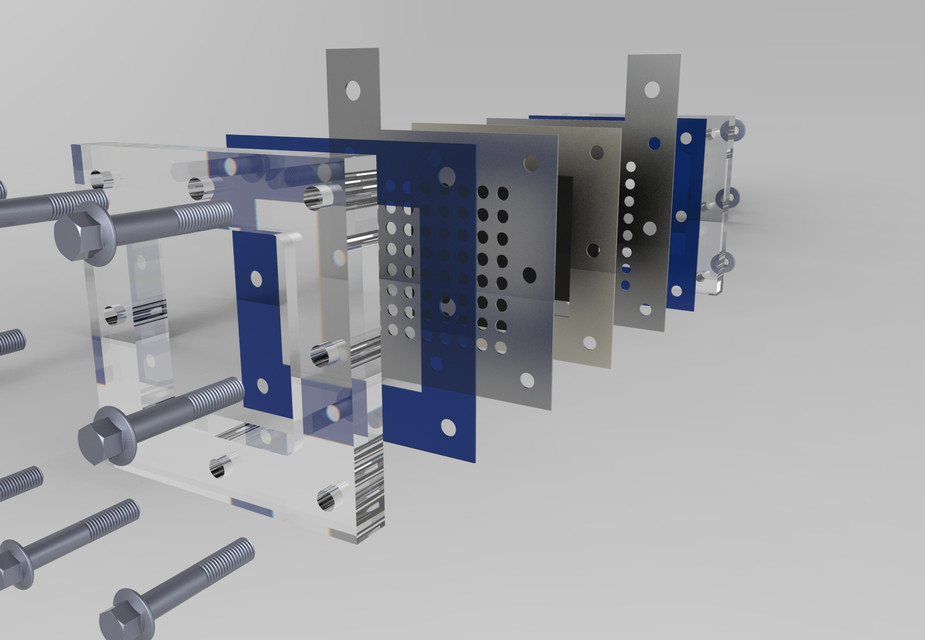 FUEL CELL   3D CAD Model Library   GrabCAD