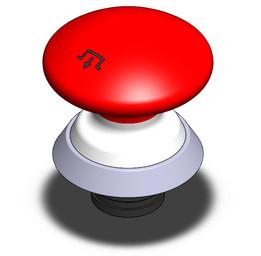 Schmersal Emergency stop button
