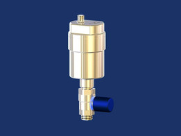 Air vent automatic with ball valve