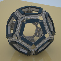 Lego dodecahedron