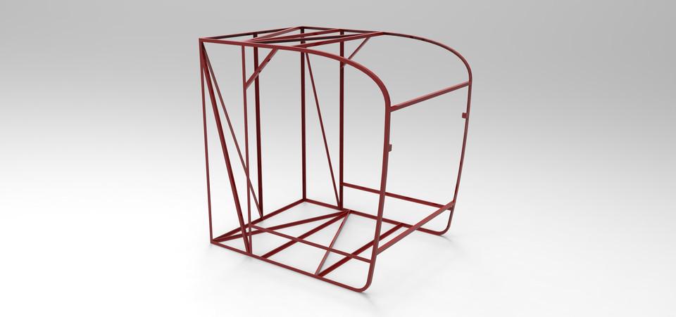 Tower crane operator cabin | 3D CAD Model Library | GrabCAD