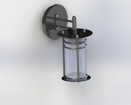 Outdoor Wall Mounted Lamp