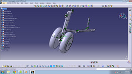 nose landing gear