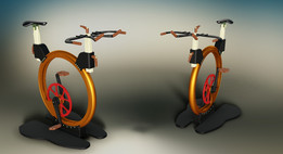 Unique design - bicycle for fitness