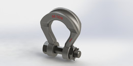 Crosby Wide Body Shackle 55 Ton, 1021287