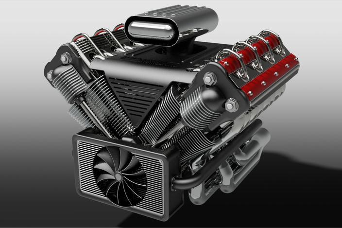 V8 Engine - Aut... V8