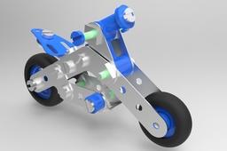 Meccano Motorcycle ( Motorkerékpár )