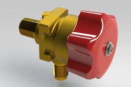 Diaphragm Packless Angle Valve