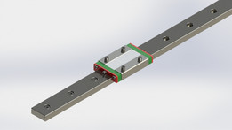 HiWin MGW 12H linear guide rail