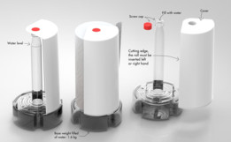 Umbra Paper Towel Vertical Holder