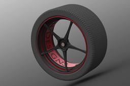 Carbon Fiber Race Wheel