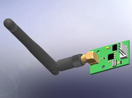 Carte récepteur DMX HF 2.4GHz V2