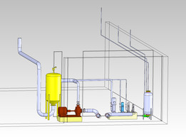 Water Meters Calibration Plant: Pump System