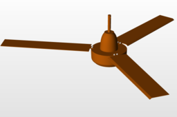Automatic Fan with inbuilt light