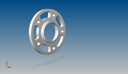 BMW E36 13mm wheel flange