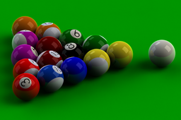 Pool Table ~ Pocket Billiards