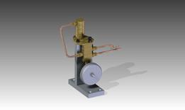 Dampfmaschiene / Steam Engine