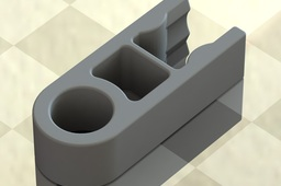Knex Connector - Grey