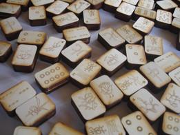Mahjong Tiles for Laser Cutter
