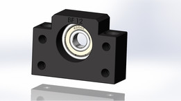 BF12 bearing block - support ballscrew CNC