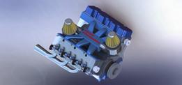 motor v6 turbo aspirado