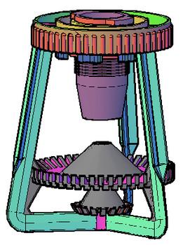 Bico pulverizador de Torre de Resfriamento