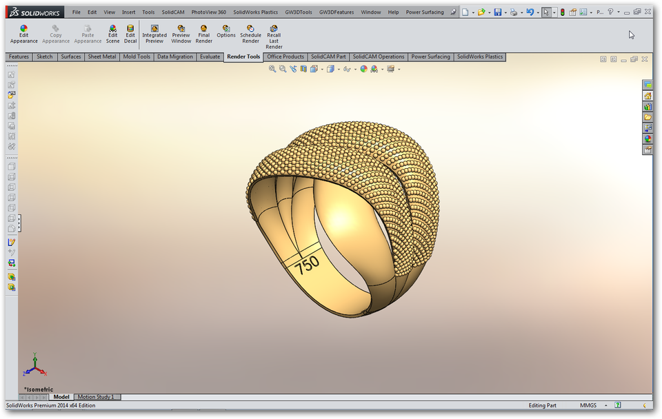 Jewelry Design 3d Cad Model Library Grabcad