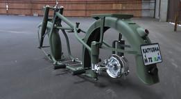 M72 Motorcycle Project - FRAME,-FORKS - MUDGUARD ASSY (KATYUSHA)