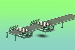 Sheet Curver Sideshift Table