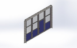 Folding doors Workshop
