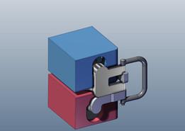 PatrickShip container locking device
