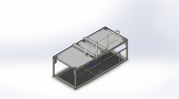 Modular Base with Handrail and Closeout