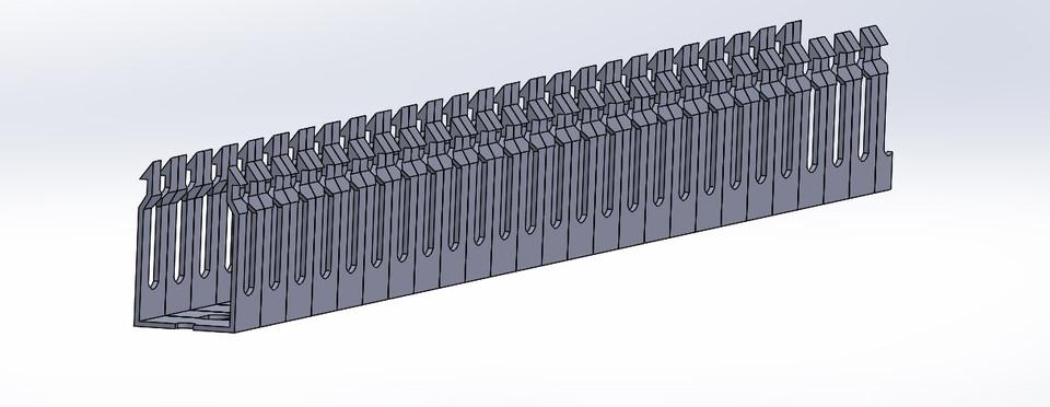 panduit 1 0 x 1 5 inch 3d cad model library grabcad rh grabcad com panduit wire duct cad panduit wiring duct catalog drd44lg6