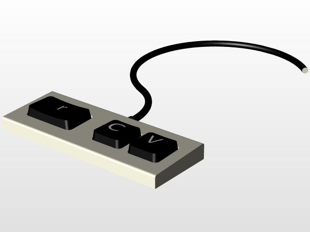 Keyboard - Copy/Paste | 3D CAD Model Library | GrabCAD